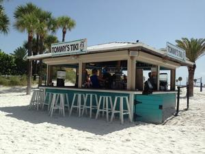 Tommy's Tiki at Clearwater Hilton Resort